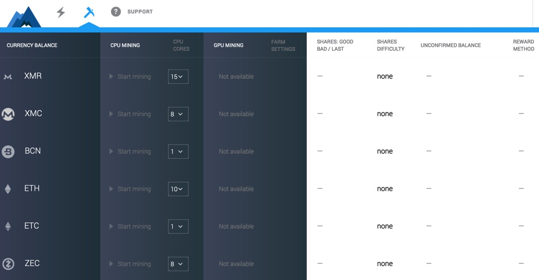MinerGate Tutorial: How to mine crypto on MinerGate - Hand pick the crypto you want to mine